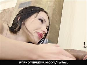 HER restrict - harsh ass-fuck and face ravage with Sasha Rose