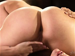 cootchie licking lovelies Mia Malkova and AJ Applegate