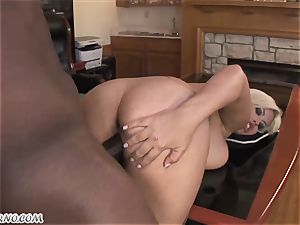 Bridgette B - My new Latina assistant in stockings