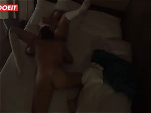 Russian babe gets pro intercourse to help her sleep