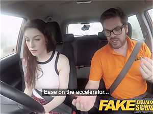 fake Driving school USA honey Anna De Ville