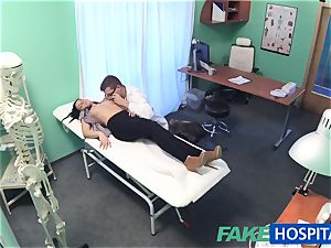 faux medical center steamy tattoo Patient cured with rock-hard fuck-stick