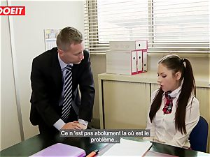 LETSDOEIT - Rebecca Tricks Academy Principal Into lovemaking