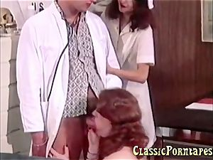insatiable physician smashes her patient and her nurse