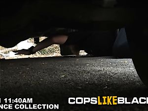 lean D is forced into porking pervy milf cops rock-hard