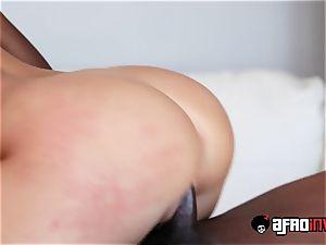 Kagney Linn Karter Gets romped By a big black cock