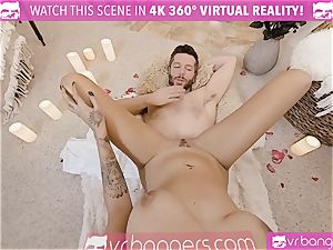 VR porn - Thanksgiving Dinner becomes insatiable penetrating