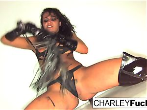Charley is just begging to be flogged