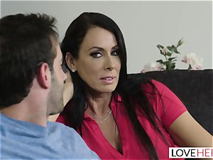 LoveHerFeet - Stepson ravages His Stepmom On The sofa