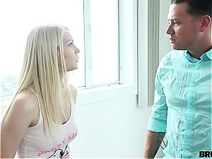 whore poked stiff by her stepbro