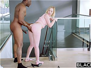 BLACKED Side female Gets penalized With big black cock