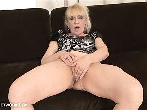 grannie ass fucking tear up Wants black pink cigar In butt interracial
