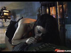 wish drill with hook forearm escort Jasmine Jae