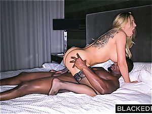 fat jugged ditzy housewife gets slain by a immense ebony impaler