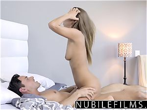 NubileFilms - cock-squeezing Coed ravages And gulps