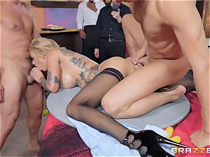 Bonnie Rotten taking it firm in every fuck hole