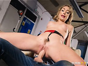 Lily Labeau takes on the monster fuck-stick of porno set PA