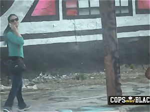 Officers take mexican crooks giant spear deep in their ultra-kinky punanis