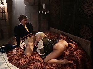 red-hot goddess Anikka Albrite awoken with a poke