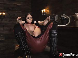 naughty superhero intercourse with Ariana Marie and Xander Corvus