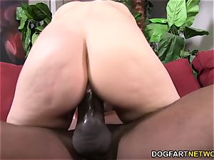 Lexi Rose fantasies with Mandingo's bbc