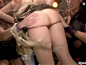 Carla Cox, Tarra milky and Nessa devil intercourse fuckfest firm
