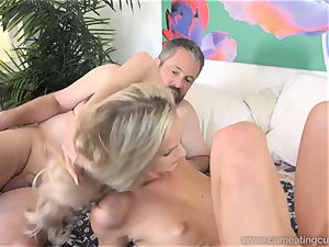 Emma Hix and husband plow Her young man pal