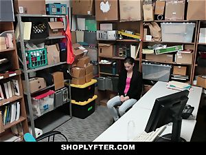 Shoplyfter - nice teenage fiercely ravaged For Stealing