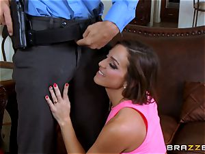 Abigail Mac gets shafted by a steaming cop in uniform