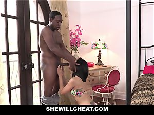 SheWillCheat - japanese wifey penetrates big black cock fellow