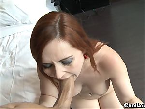 Angell Summers drilled deep in her tight ass