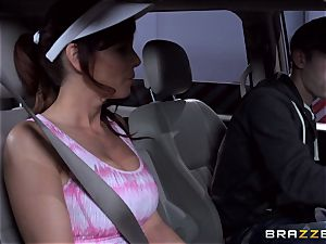 luxurious stepmom Syren Demer bangs her stepsons ginormous meatpipe