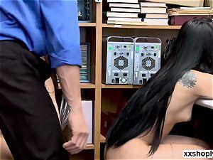 Gina Valentina and Miha Doan 3 ways romp with LP officer