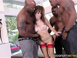 birthday gang-bang with luxurious mommy Alana Cruise