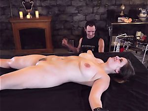 corded beauty pulverize fake penis