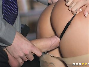 red-hot bum Susy Gala juggling on top