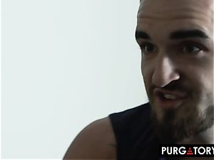 PURGATORYX Genie grants desire for a super-hot blondie to tear up