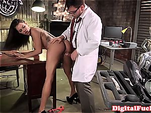 phat hooter chick ultra-kinky at work for a superb pipe inwards