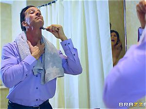 Lucia love tearing up 2 men at different times