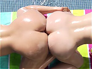 large caboose ass fucking hookup 3some