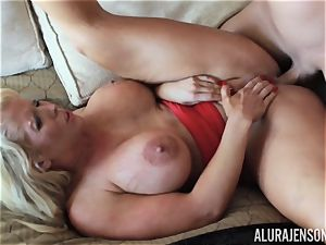 Alura Jenson jammed hard in her MILFY coochie