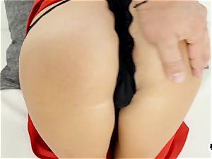 HER restrict - euro nubile newbie gets bootie porked hard