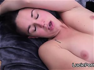 inexperienced lesbian bombshells get their stretch pussies licked and drilled
