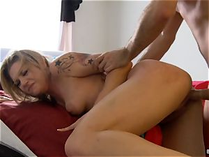Dahlia's home movie hookup gauze with James Deen