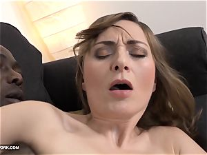 mummy anal sex with ebony fellow screaming in enjoyment big black cock