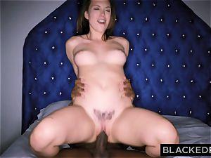 BLACKEDRAW Smoking Swinger wifey tries black dick