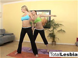 lovely yoga nymphs Brett