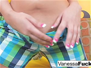 Vanessa decides To boink Her tight lil' muff