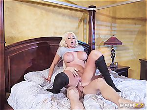 Nicolette Shea finds out some firm evidence of Johnny's fucky-fucky life