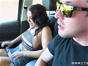 Keisha Grey getting nailed throughout the car